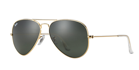 Summertime or not, these should be in your bag at all times. Ray-Ban's Aviator Classic is a staple pair of shades that will instantly make your outfit chic.