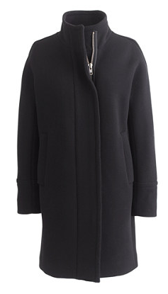 J.Crew Stadium-Cloth Cocoon Coat