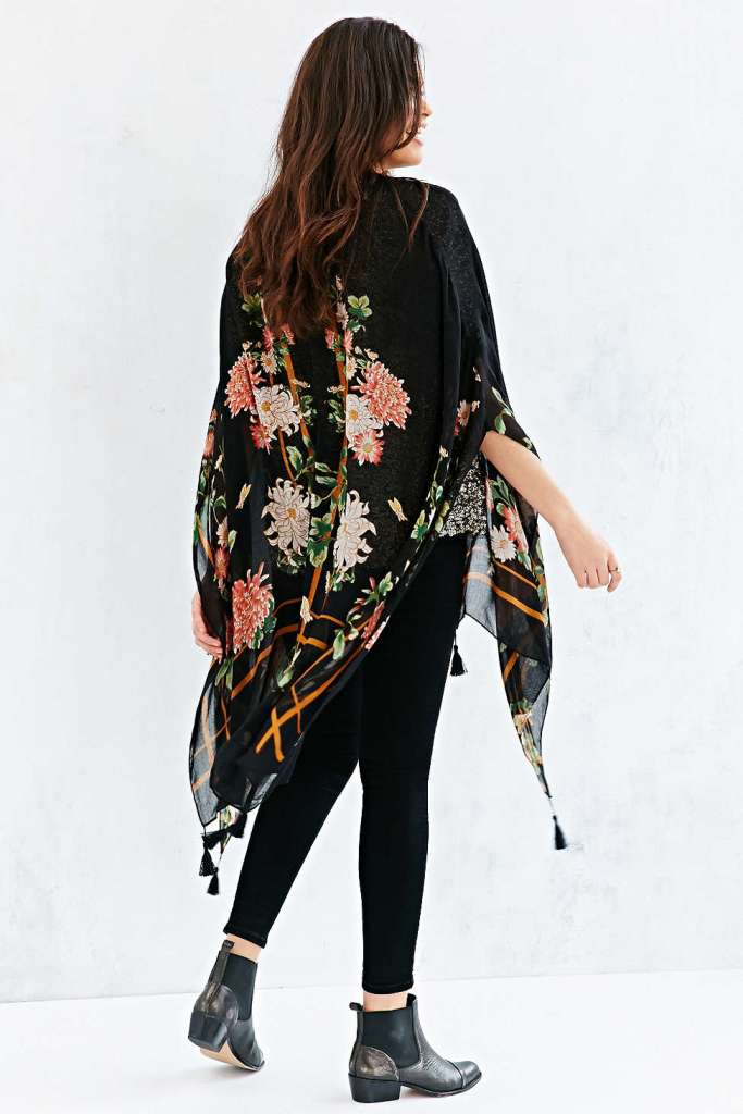 Boho is definitely here to stay. Whether you sport a poncho or kimono this spring, you'll definitely be on trend.