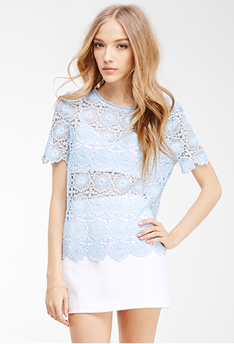 Scallops are the perfect way to add a flirty and feminine touch to any outfit.