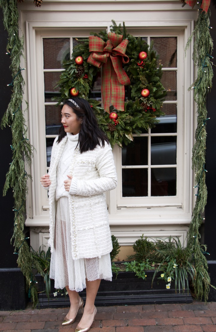 {Holiday How To}: ❆ Winter White❆