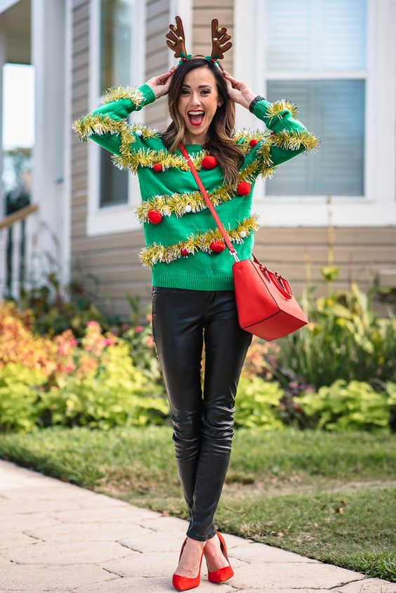 A Style Guide to Tacky Christmas Sweaters –