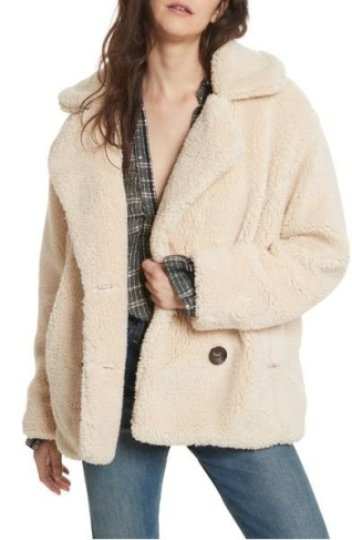 sherling coat