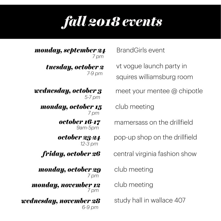 FMDS Events