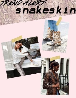 snakeskin trend
