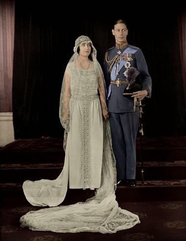 1923 - George VI - Elizabeth-wedding