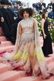 NEW YORK, NEW YORK - MAY 06: Priyanka Chopra attends The 2019 Met Gala Celebrating Camp: Notes on Fashion at Metropolitan Museum of Art on May 06, 2019 in New York City. (Photo by Dimitrios Kambouris/Getty Images for The Met Museum/Vogue)